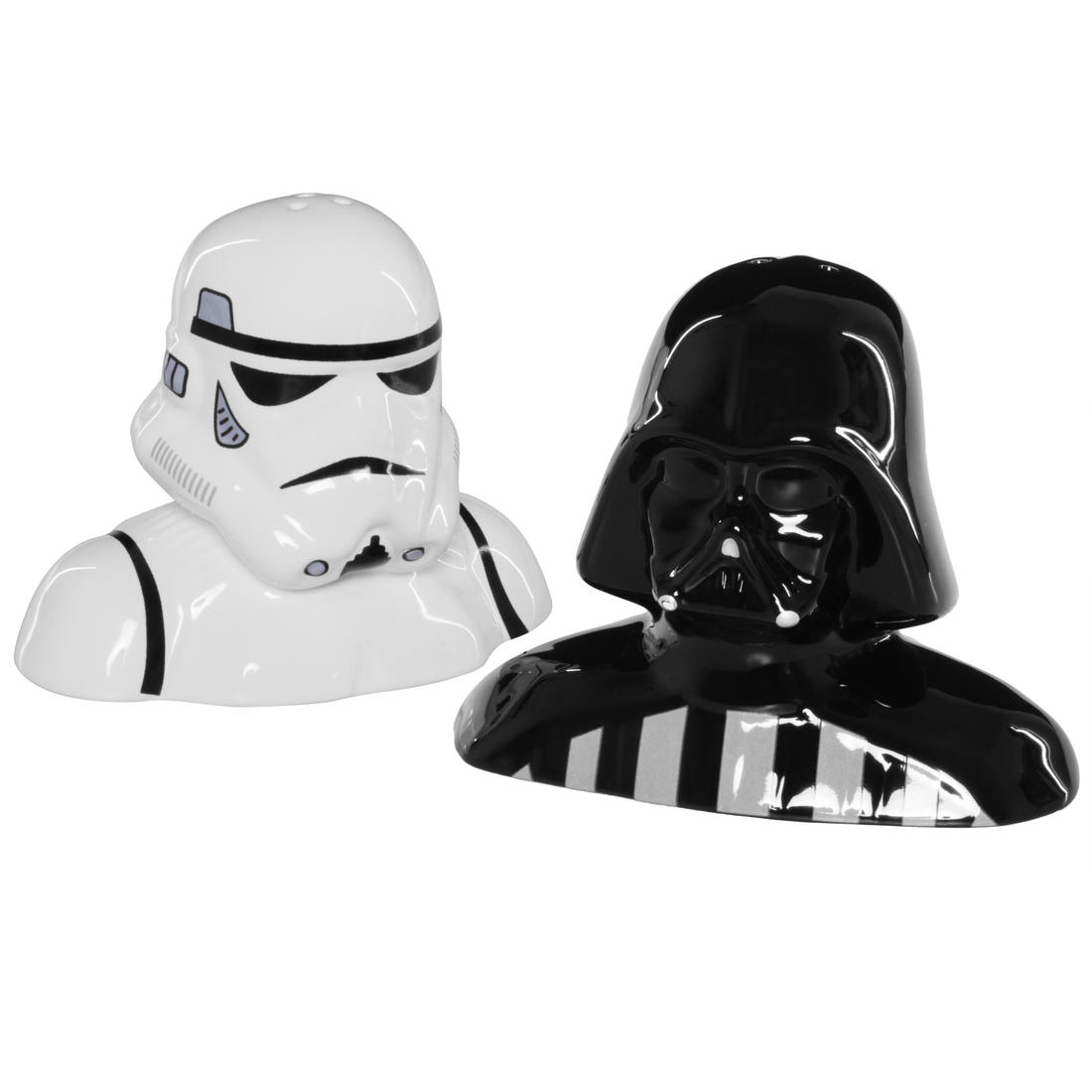Darth vader and stormtrooper salt and pepper shaker getdigital - Darth vader and stormtrooper salt and pepper shakers ...