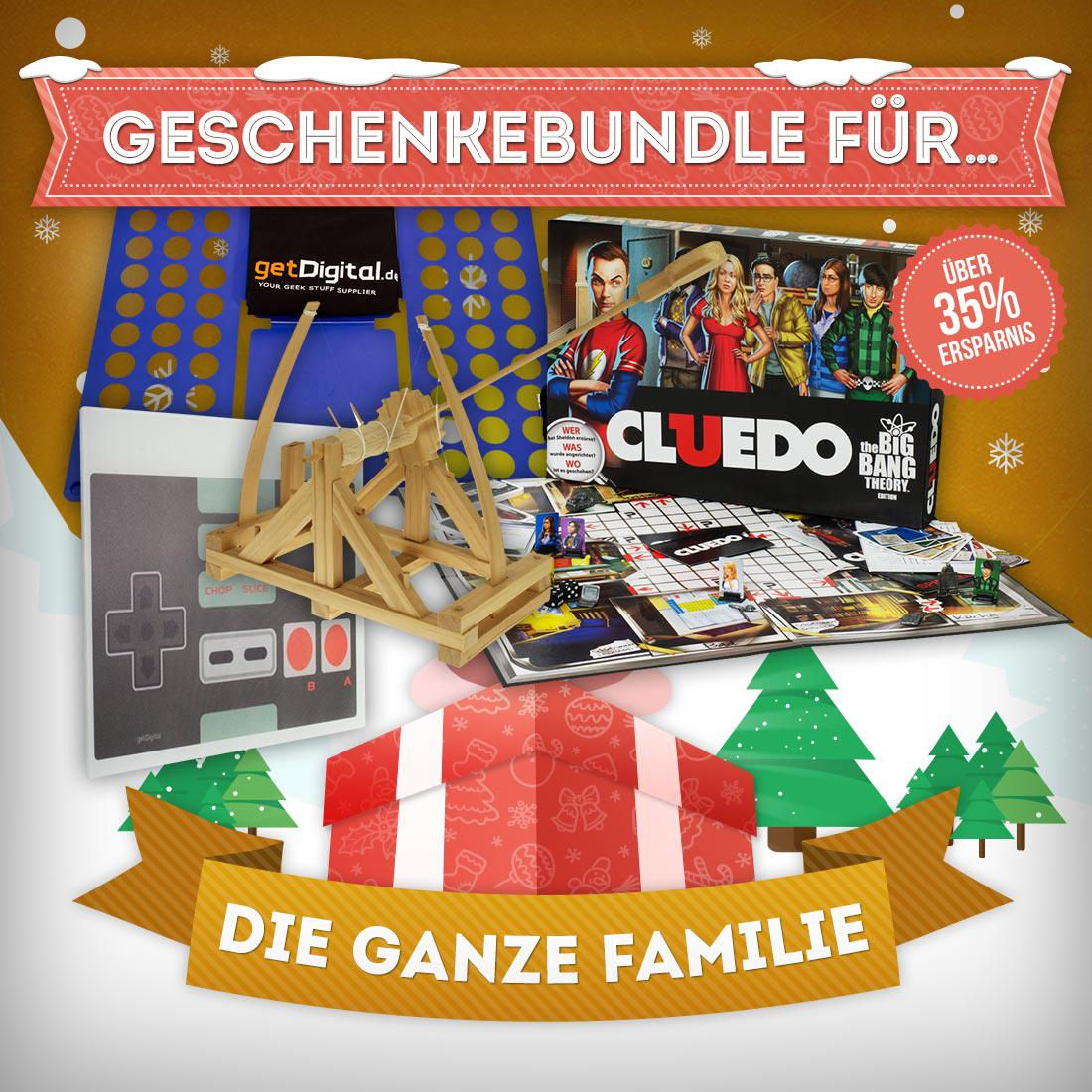 Present Bundle For The Whole Family | getDigital