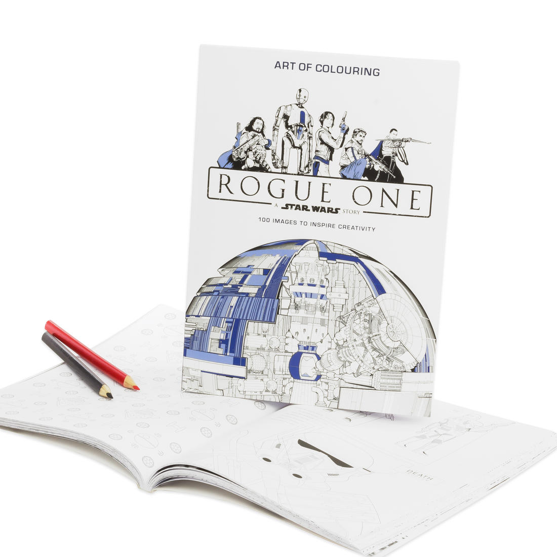 Star Wars Rogue One Colouring Book | getDigital