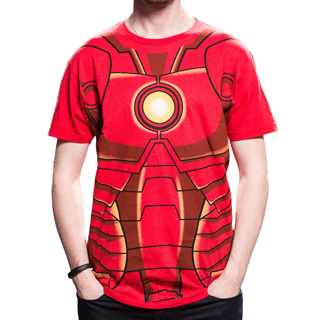 Iron man chest plate images galleries for Iron man shirt for men