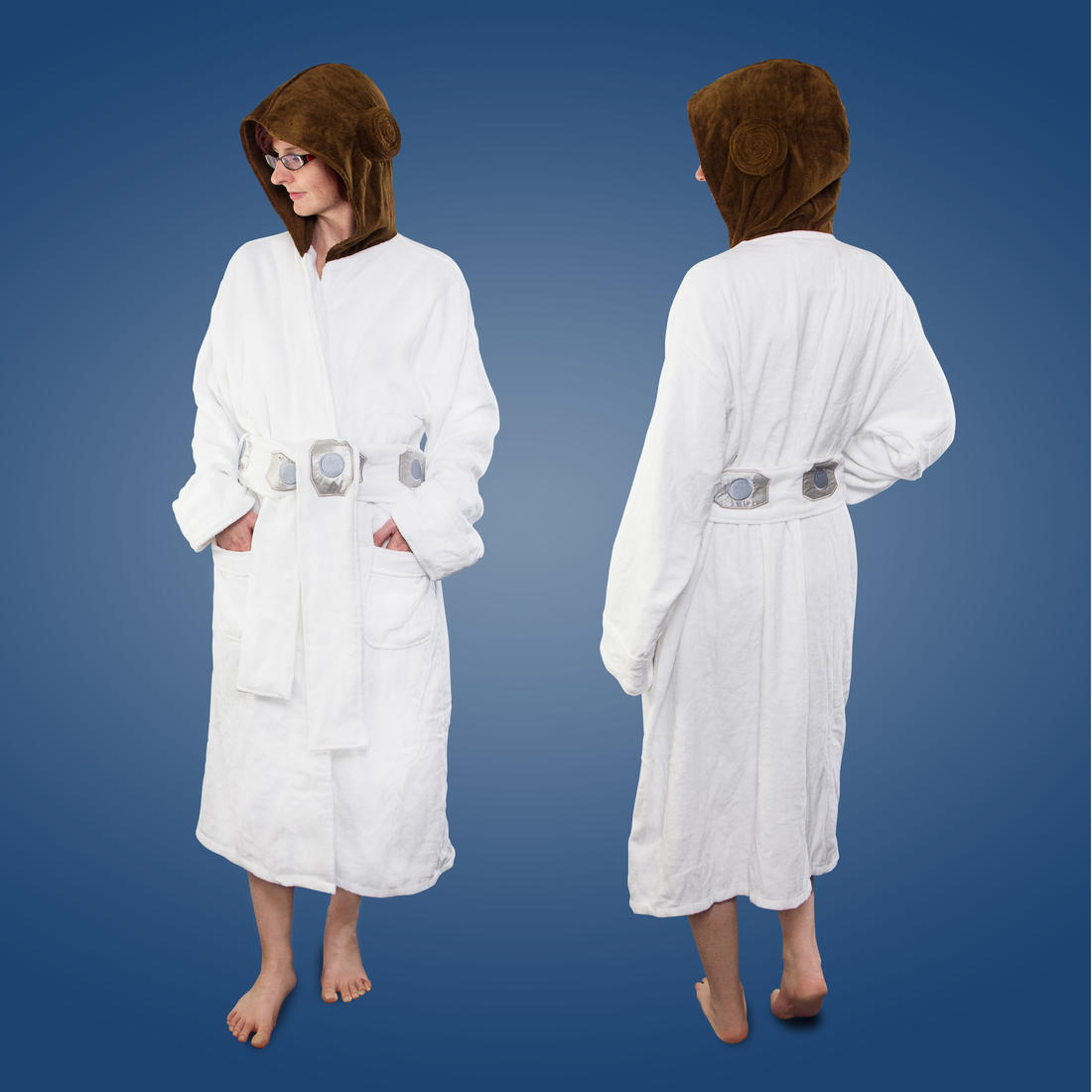 Princess Leia Star Wars Bath Robe Getdigital