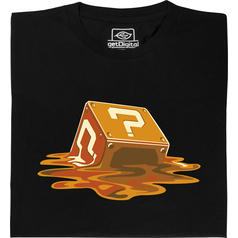 Melting Question Mark Block T-Shirt