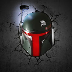 Star Wars Wall Lamp Boba Fett