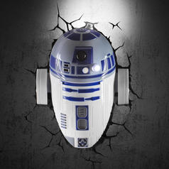 Star Wars Wall Lamp R2D2