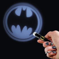 Bat-Signal Flashlight