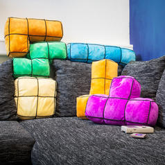 Arcade Blocks Cushions