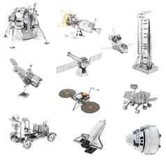 Metal Earth Space 3D Metal Craft Kits