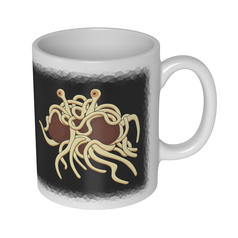 Flying Spaghetti Monster Mug