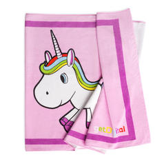 Unicorn Beach and Bath Towel