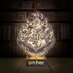 Harry Potter Hogwarts Crest Lamp