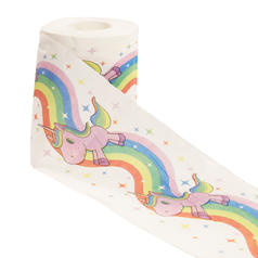 Unicorn Toilet Paper : 1 Roll