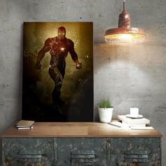 Marvel Iron Man Metal Poster