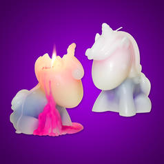Unicorn Candle