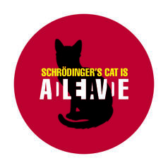 Geek Sticker Schrödinger's Cat