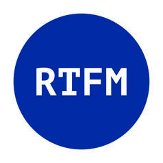 Geek Sticker RTFM