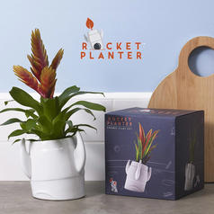 Rocket Flower Pot