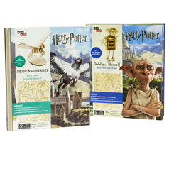 Incredibuilds Harry Potter Buch und Holzmodell