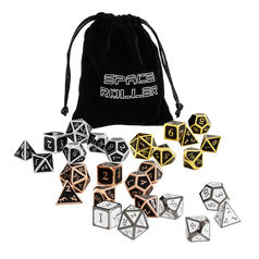 Meteor Dice Set - 7 Polyhedral Metal Dice