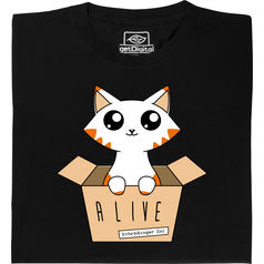 Schrödinger's Cat Glow in the Dark T-Shirt