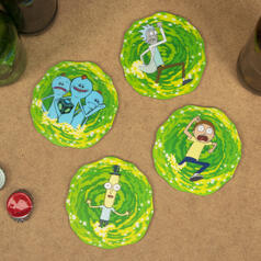 Rick and Morty 3D Portal Coasters