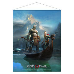 God of War Wall Scroll