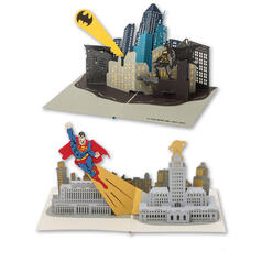 DC Comics Pop-Up Greeting Cards