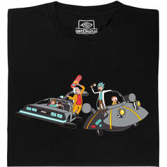 Rick vs. Doc Brown T-Shirt
