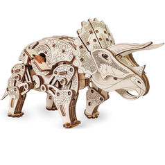 Eco-Wood-Art Construction Kit Triceratops