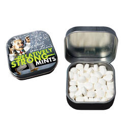 Albert Einstein's Relatively Strong Mints