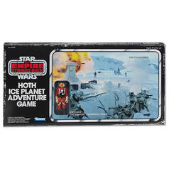 Star Wars Hoth Ice Planet Retro Board Game