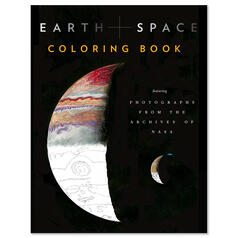 Earth + Space Colouring Book