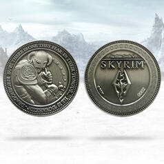 The Elder Scrolls Skyrim Limited Edition Dragonborn Coin