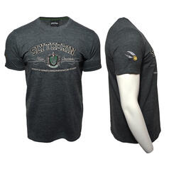 Harry Potter Quidditch T-Shirt Team Slytherin Embroidery