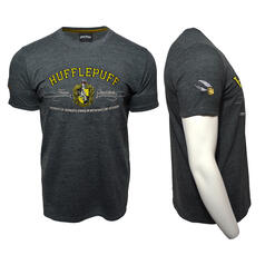 Harry Potter Quidditch T-Shirt Team Hufflepuff Embroidery