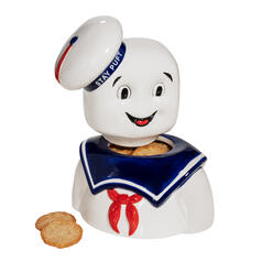 Ghostbusters Stay Puft Cookie Jar