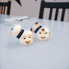 Ghostbusters Stay Puft Salt & Pepper Shakers