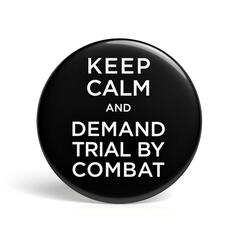 Geek Pin Trial by Combat