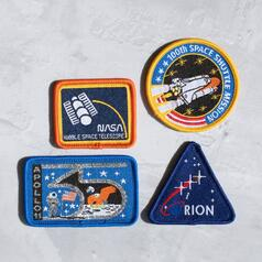NASA Iron On Patches