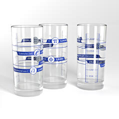 Irrational Numbers Drinking Glass