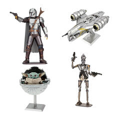 The Mandalorian Metal Earth 3D Metal Construction Kits
