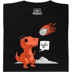 Asteroid Paper Scissors T-Shirt