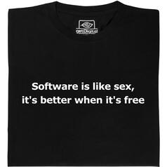 software is like sex T-Shirt