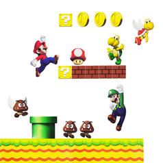 Nintendo Wall Sticker