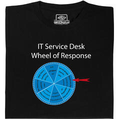 IT Service Wheel of Response T-Shirt