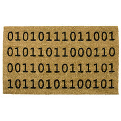 Binary Welcome Doormat