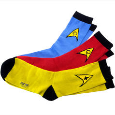 Star Trek Socks 3-Pack Set