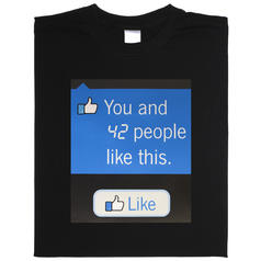 Animated Facebook T-shirt