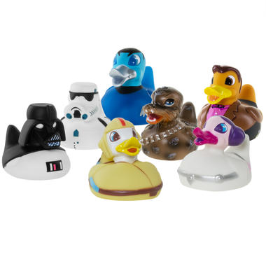 Science Fiction Colour Changing Rubber Ducks