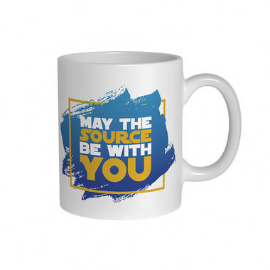 May the Source be With You Mug
