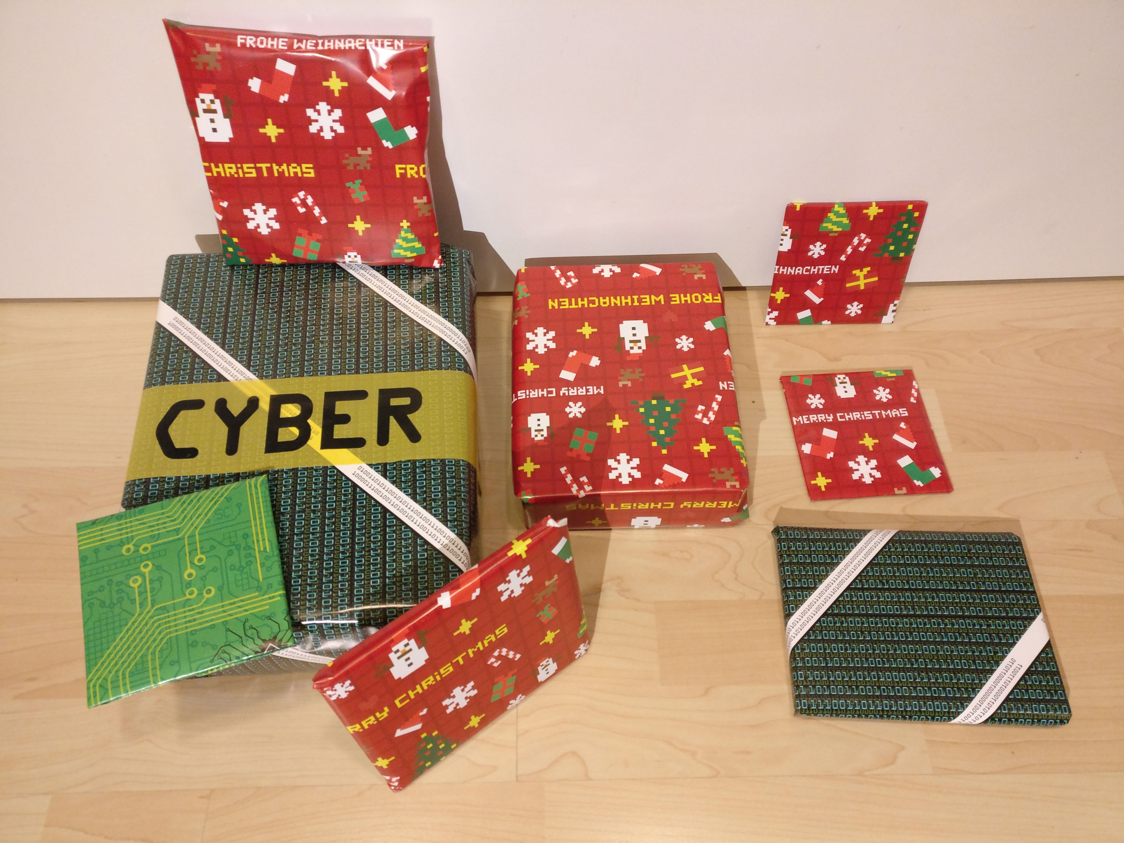 Geek Wrapping Paper Getdigital Circuit Board Picture Frame Armory Customer Photo 1